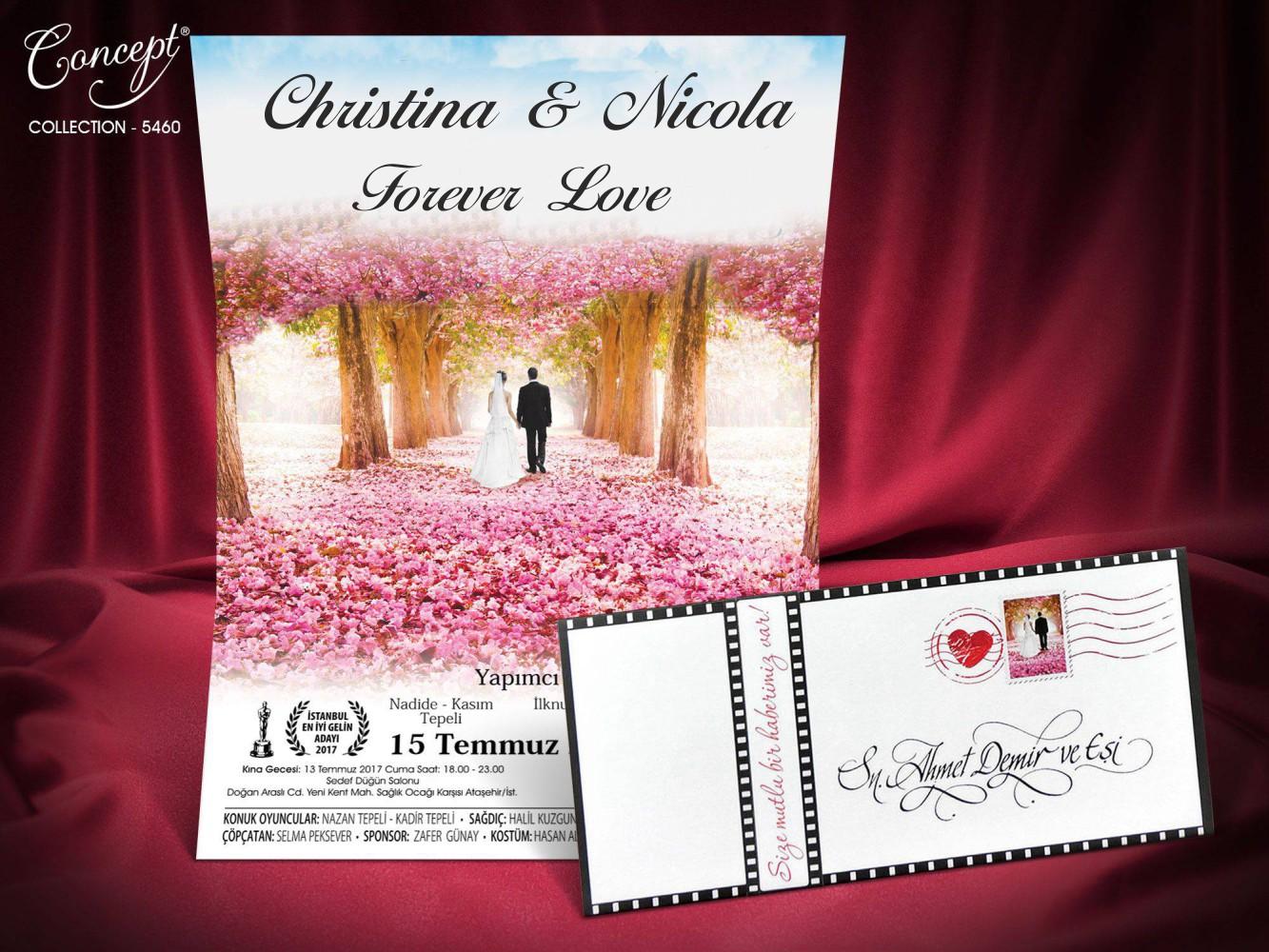 Concept Wedding Card 5460