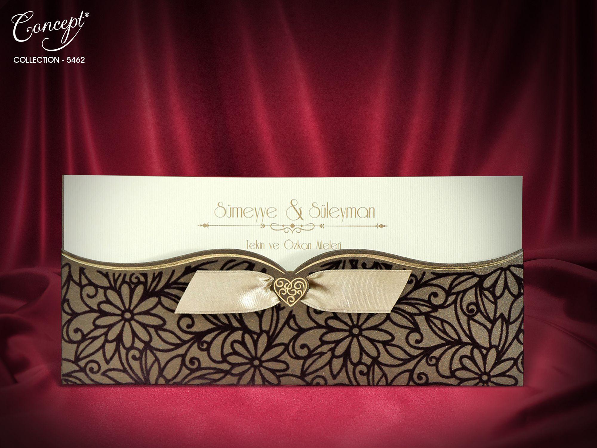 Concept Wedding Card 5462