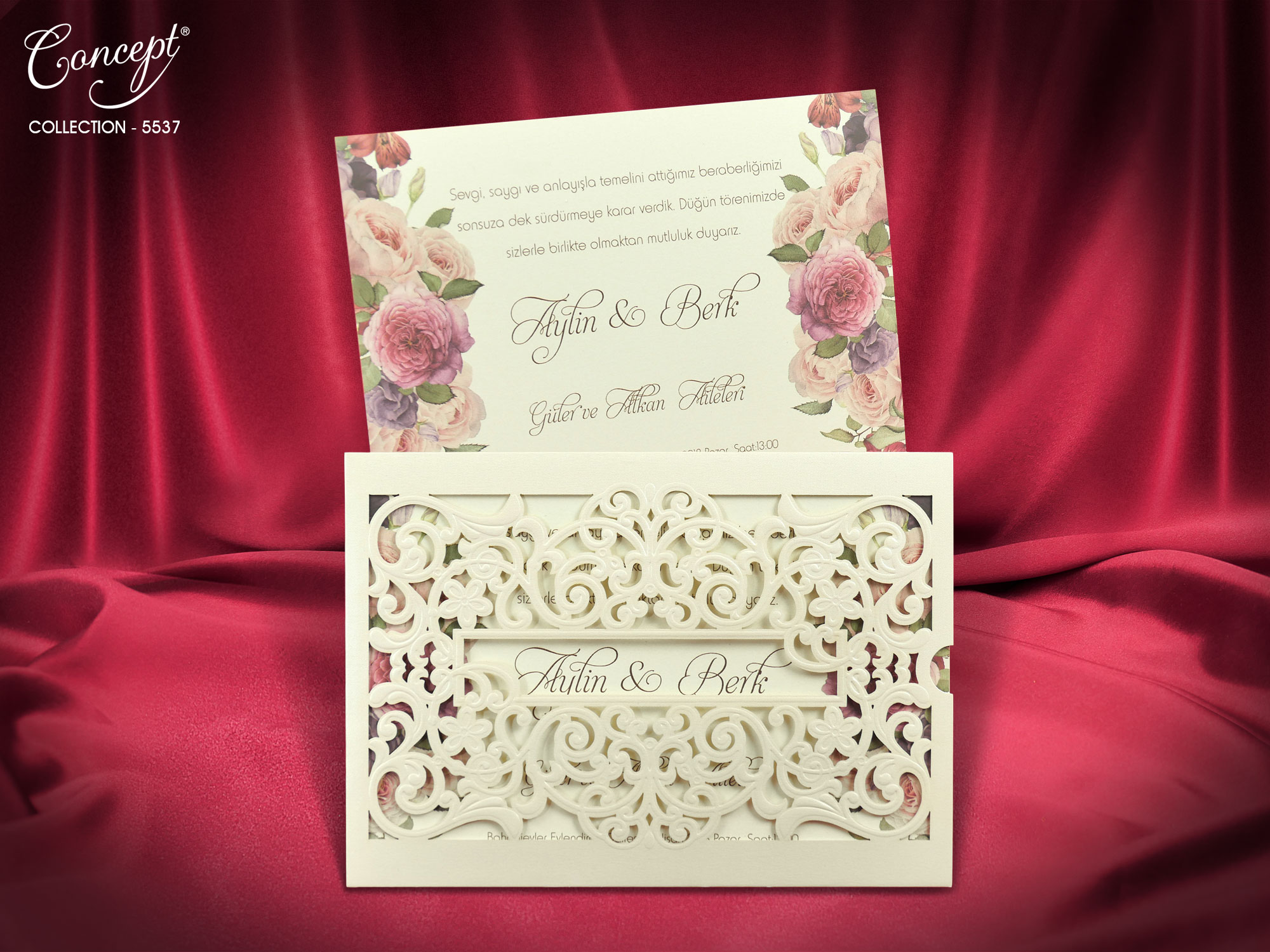 Concept Wedding Card 5537