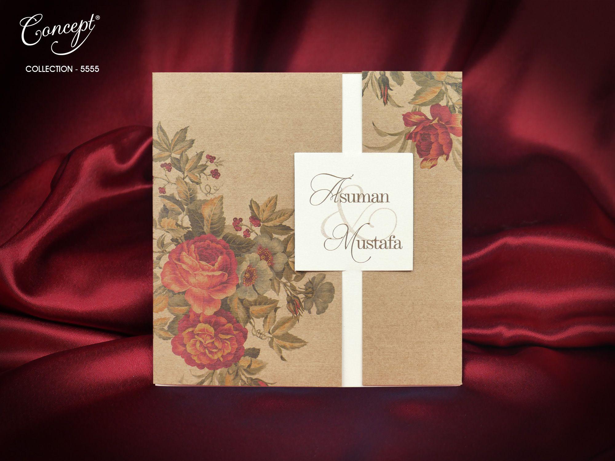 Concept Wedding Card 5555