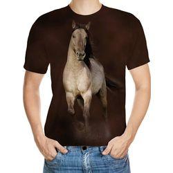 Horse Designed 3D T-Shirt