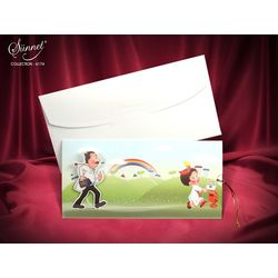 Funny and moving sunnet wedding card