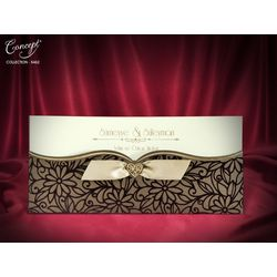 Velvet Design, luxury wedding card