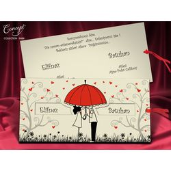 Love design wedding card