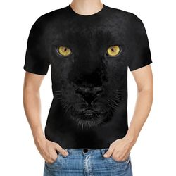 Black Panther Designed 3D T-Shirt