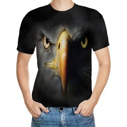 Black Eagle Designed 3D T-Shirt