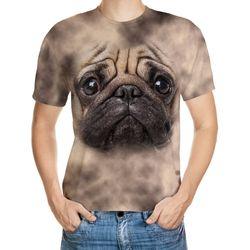 Pug Designed 3D T-Shirt