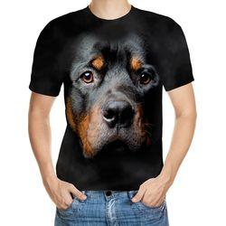 Rottweiler Designed 3D T-Shirt