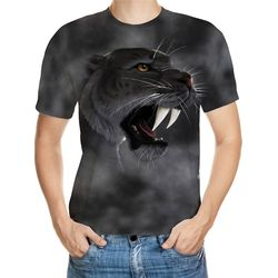 Long Teeth Designed 3D T-Shirt