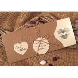 Craft design wedding card