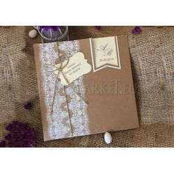 Craft weding card
