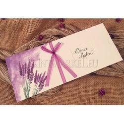 Laveder design wedding card