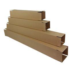 Vertical Long Cardboard Box 17x17x140 cm