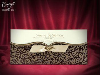 Velvet Design, luxury wedding card