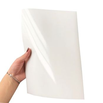 Ripstop White Bright Sticker, Suitable for Laser Printing, A4