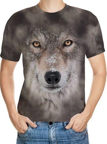 Wolf Designed 3D T-Shirt